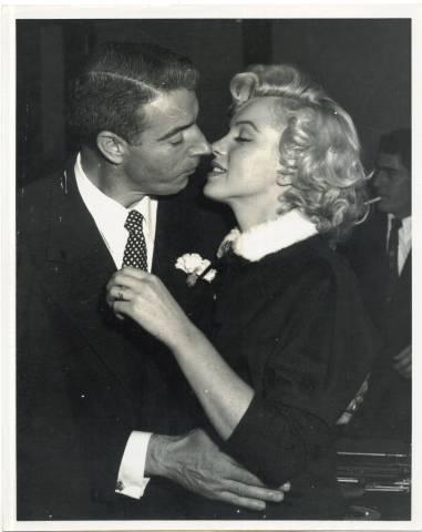 Joe DiMaggio & Marilyn Monroe