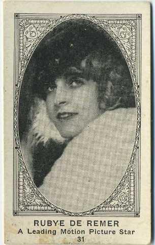 Rubye de Remer - 1922 American Caramel