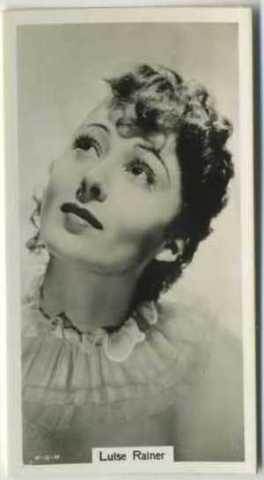 1939 RJ Lea Famous Film Stars Tobacco Card