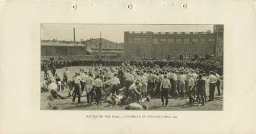 Battle of the Bowl, University of Pennsylvania, 1905
