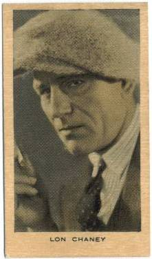 Lon Chaney 1928 Wills Film Favourites Tobacco Card