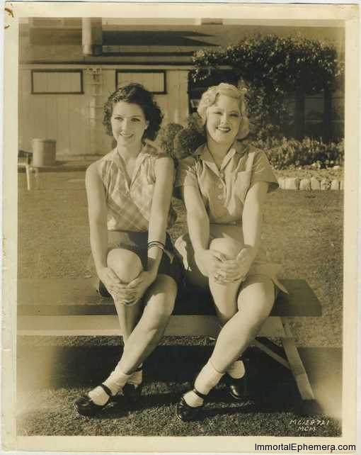 Jean Parker and Mary Carlisle vintage 8x10 MGM Promotional Photo from the early 1930