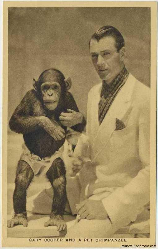 Gary Cooper circa 1932 Boys Cinema 3.5 X 5.5 Trading Card #3