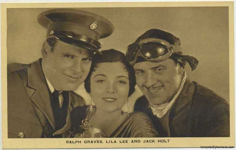 Ralph Graves, Lila Lee and Jack Holt circa 1932 Boys Cinema 3.5 X 5.5 Trading Card #2