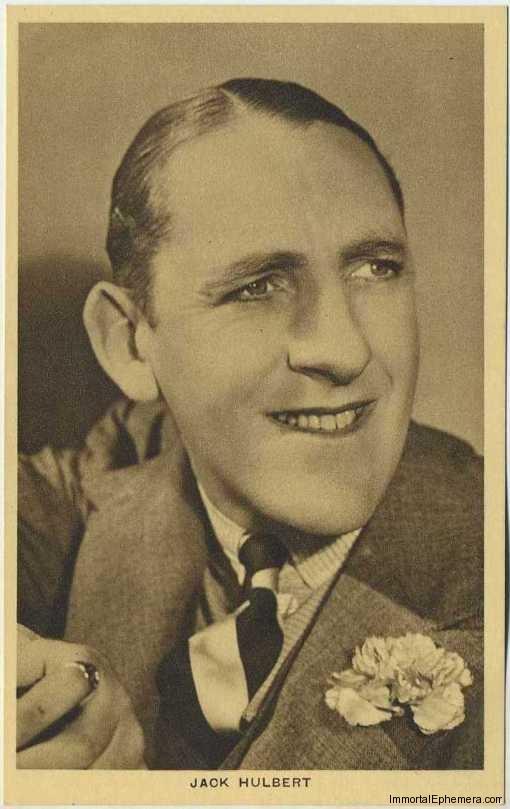 Jack Hulbert circa 1932 Boys Cinema 3.5 X 5.5 Trading Card #7