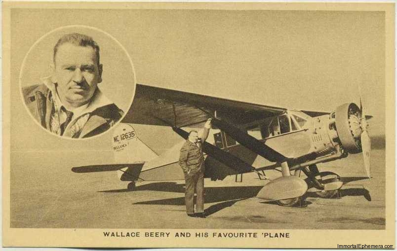 Wallace Beery circa 1932 Boys Cinema 3.5 X 5.5 Trading Card #8