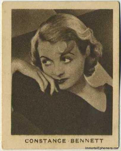 Constance Bennett 1933 Allen