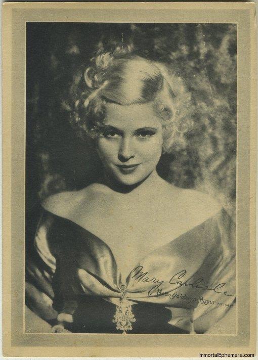 Mary Carlisle circa 1933 Lux Premium Portrait