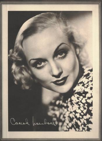 Carole Lombard 1934 Lux Portrait Photo