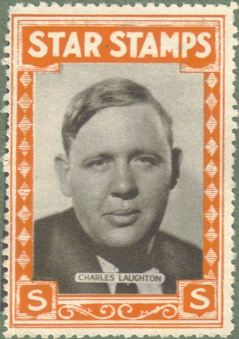 Charles Laughton Star Stamp