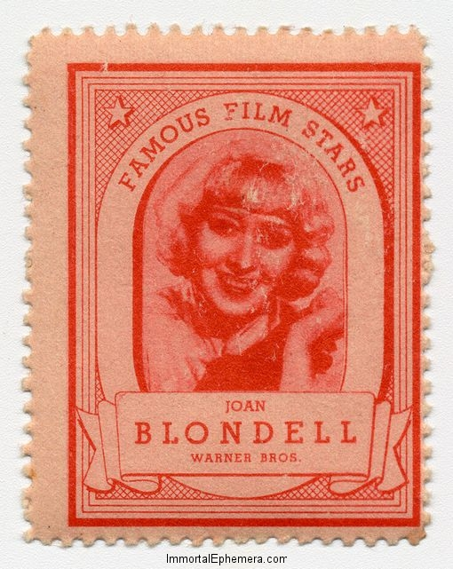Joan Blondell 1935 Lipton