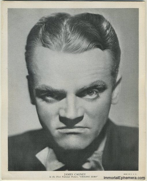 James Cagney 1936 R95 8x10 Linen Textured Premium Photo