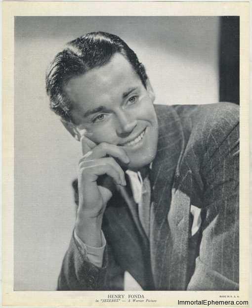 Henry Fonda circa 1938 R95 8x10 Linen Textured Premium Photo