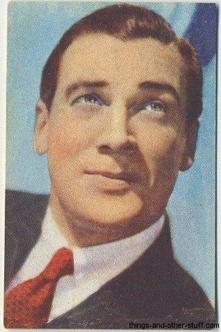 Walter Pidgeon 1951 Artisti Del Cinema Sticker