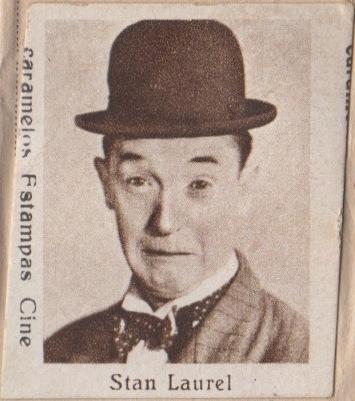 Stan Laurel circa 1934 Caramelos Estampas Cine Artistas de Cine