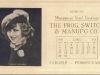 Muriel Ostriche 1923 Movie Star Ink Blotter