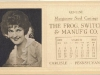 Priscilla Dean 1923 Movie Star Ink Blotter