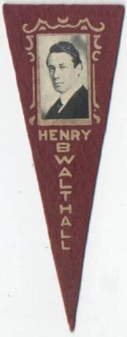 Henry B Walthall 1915 Pennant