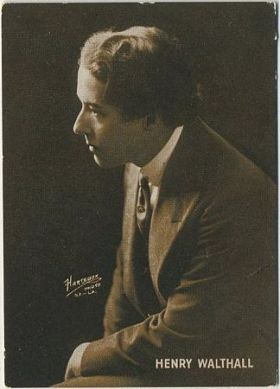 Henry B Walthall circa 1916 Trading Card