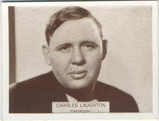 Charles Laughton 1934 Wills Tobacco Card
