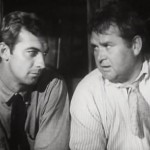 Zachary Scott and Charles Kemper in The Southerner