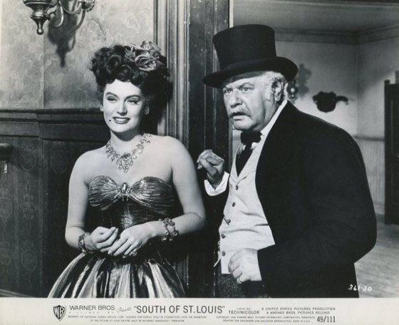 Alexis Smith and Alan Hale