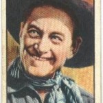 Harry Carey 1930 BAT tobacco card