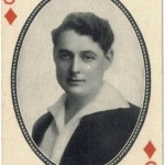 J Warren Kerrigan 1916 MJ Moriarty Playing Card