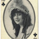 Mabel Normand 1916 MJ Moriarty Playing Card