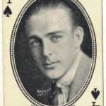 Wallace Reid 1916 MJ Moriarty Playing Card