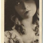 Lillian Gish 1916 Watercolor Company premium