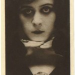 Theda Bara 1916 Watercolor Company Premium Photo