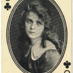 Olive Thomas 1916 MJ Moriarty Playing Card