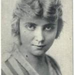 Jane Novak 1917 Kromo Gravure Trading Card