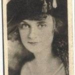 Billie Burke 1923 B Morris and Sons tobacco card