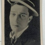 Buster Keaton 1925 Lambert and Butler tobacco card