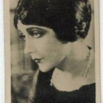 Barbara La Marr 1925 Lambert and Butler Tobacco Card