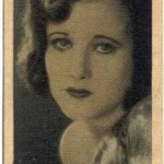 Joan Crawford 1928 Wills tobacco card
