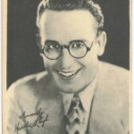 Harold Lloyd 1920s Kashin Motion Picture Stars card
