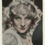 Marlene Dietrich 1934 Haus Bergmann Tobacco Card
