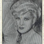 Mae West 1934 Players tobacco card