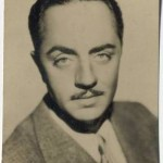 William Powell 1934 Real Photo trading card
