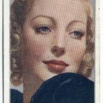 Loretta Young 1936 Carreras tobacco card