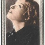 Katharine Hepburn 1936 Godfrey Phillips tobacco card