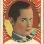 Robert Montgomery 1938 Hamilton Gum Trading Card