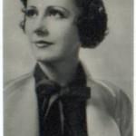 Irene Dunne 1940 Bridgewater trading card
