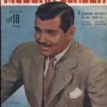 Clark Gable November 1942 Modern Screen Magazine