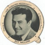 Ray Milland 1942 Dixie Lid