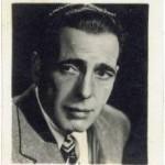 Humphrey Bogart 1940s Kelloggs Pep trading card