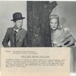 Donald OConnor and Penny Edwards 1948 Press Photo